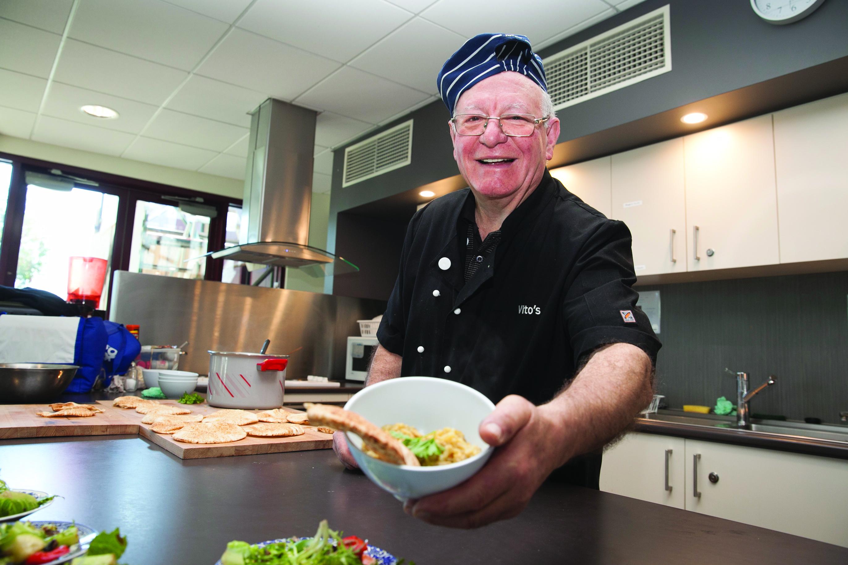 Westsider profiles vito agosta the westsider for Vitos italian kitchen