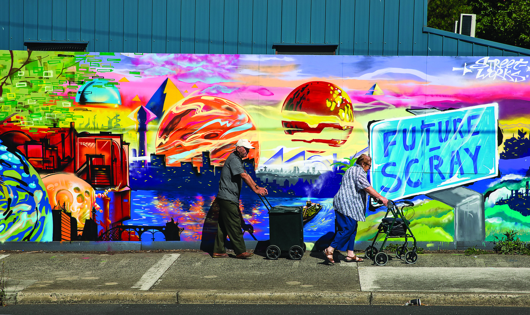 WINNER - Street Art Photo - Bruce Furmedge - future-scray